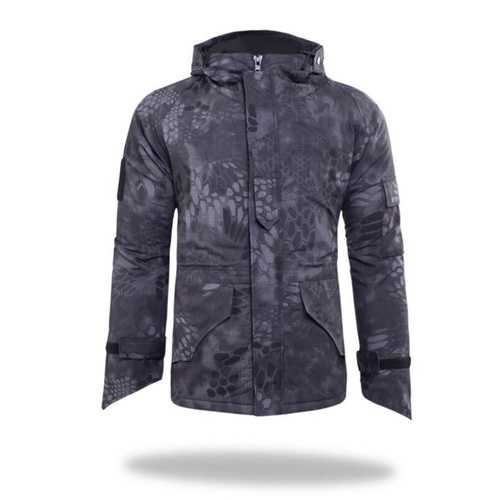 Men Outdoor Windproof Army Military Jacket G8 Python Camouflage Jackets Tactical Camo Fleece Python Jacket