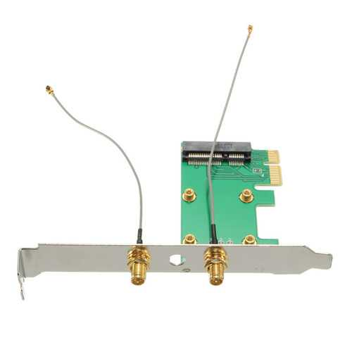 Mini PCI-e MINI PCI Express To PCI-e Adapter Wireless WIFI Convertor Card Expansion Card