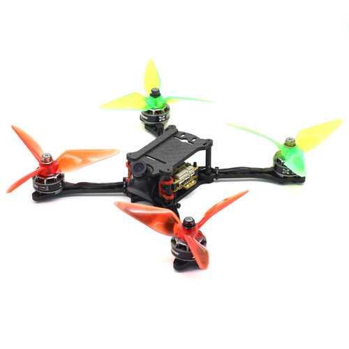 HSKRC HSK210 210mm Wheelbase 4mm Arm 5 Inch Carbon Fiber Frame Kit for RC Drone FPV Racing