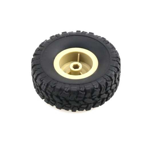 JJRC 1pc RC Car Wheel For Q60 Q61 1/16 2.4G Off-Road Military Trunk Crawler RC Car