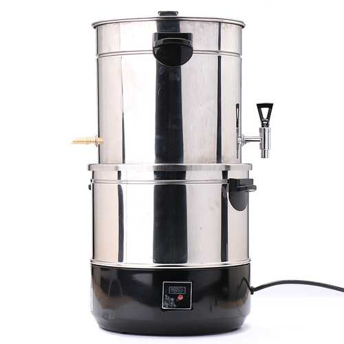 220V 1500W 12L Alcohol Distiller Multi-functional Stainless Steel For Wine Making Tools