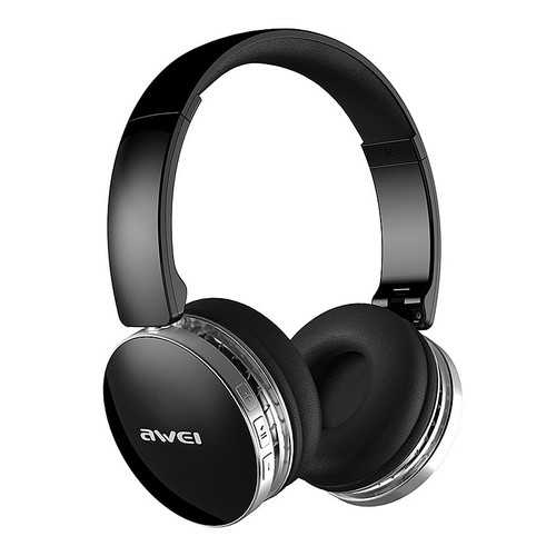 AWEI A500BL Foldable Wireless Bluetooth Headphone Stereo Hi-Fi Noise Canceling 40mm Unit With Mic