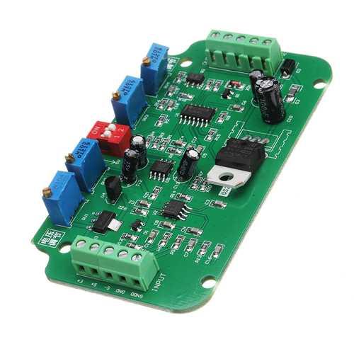 DC 12V To 24V 4-20MA Load Cell Sensor Amplifier Weighing Transmitter Voltage Current Converter