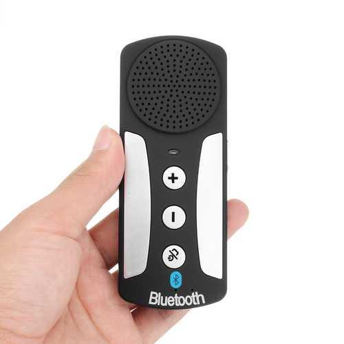 3.7V 600mAh Standby 600 Hours Full Duplex Sound Quality Car Sun Visor Bluetooth Speaker