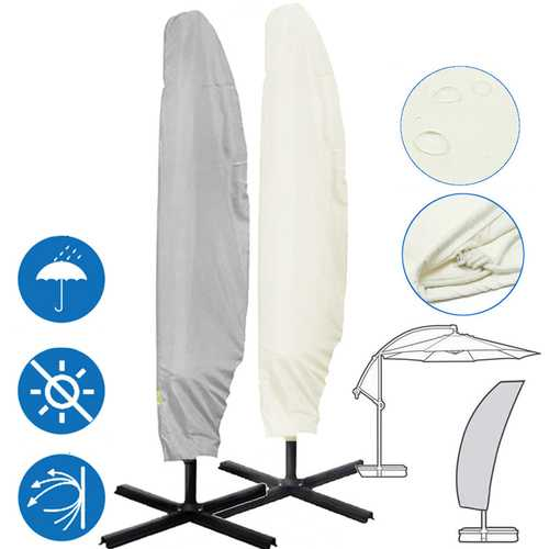 104x27inch Outdoor Garden Parasol Cover Waterproof Anti-UV Rain Resistant Umbrella Storage Bag