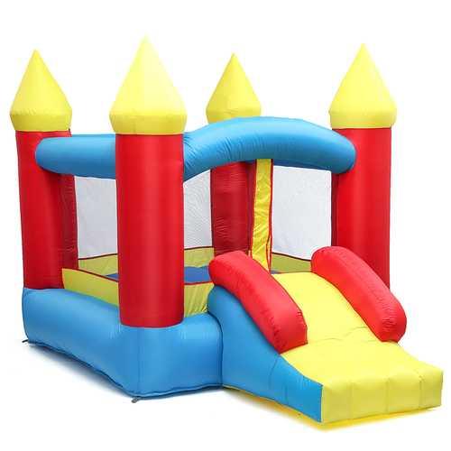 280*195*185cm 84'' Inflatable Toys Air Bouncer Moonwalk Slide Bouncer House Jumper Kids Play Center