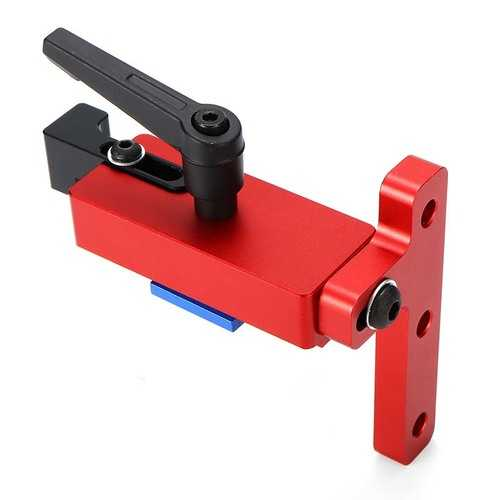 Machifit 45 Type Aluminium Alloy Miter Track Stop For 45mm T-track Woodworking Tool