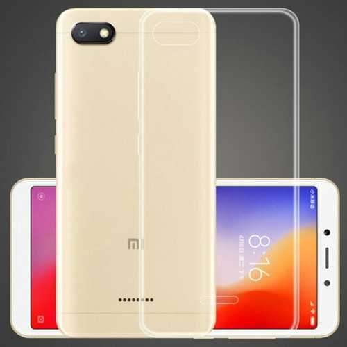 BAKEEY Transparent Ultra Thin Shockproof Soft TPU Protective Case For Xiaomi Redmi 6A