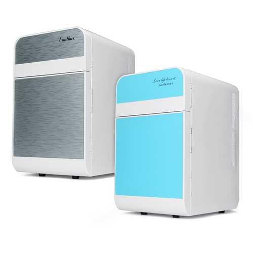 Portable 20L Mini Car Refrigerator Cooler Warmer Dual-use Fridge Box For Car Home