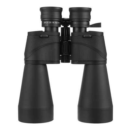 12-24X60 Outdoor Tactical Zoom Binocular Waterproof HD Optic Night Vision Telescope Camping Hiking