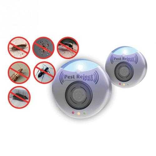Electronic Pest Repeller Enhanced Version Killer Mouse Fly Killer Electronic Ultrasonic Anti Insect Repeller Pest Repeller