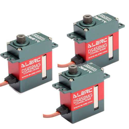 3PCS ALZRC DS452MG 450 CCPM Mini Digital Metal Servo For ALZRC 380 420 480 X360