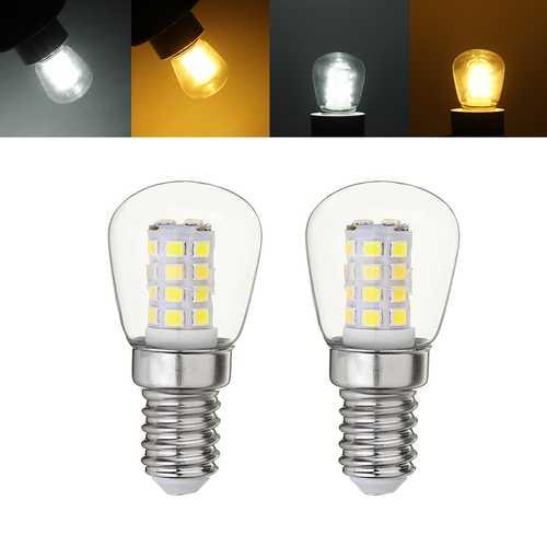 E14 3W SMD2835 White Warm White Mini LED Lamp Refrigerator Corn Light Bulb AC220-240V