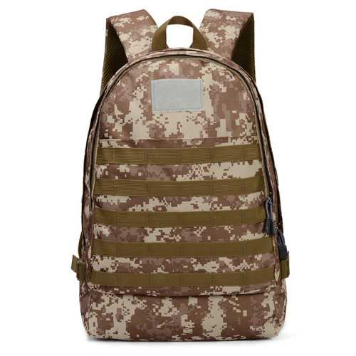 Outdoor Sports Shoulder Bag Tactical Backpack Camouflage Military Men Women Climbing Hiking Camping Storage Punch