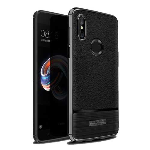 Bakeey Soft TPU Leather Shockproof Anti-Fingerprint Protective Case For Xiaomi Mi A2/ Xiaomi Mi 6X
