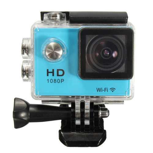 SJ5000 1.5 Inch 1080P FHD WiFi Mini DV Car Action Waterproof Sport Camera Buit-in Lithium Battery