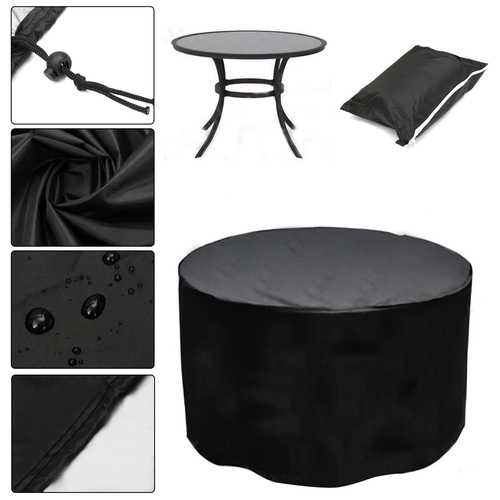 110x280cm Outdoor Garden Patio Furniture Stack Chair Cover Dustproof Shelter