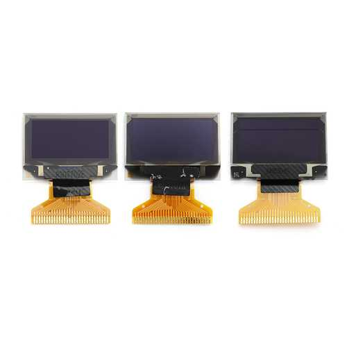 0.96 inch OLED Display 12864 Serial LCD Display White/Blue/Blue Mix Yellow Arduino Display