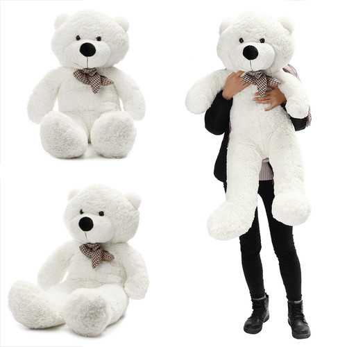 "140cm/55"" Inch Semi-Finished Giant Big Unstuffed Teddy Bear Skin Shell Skins Kid Baby Plush Toys"