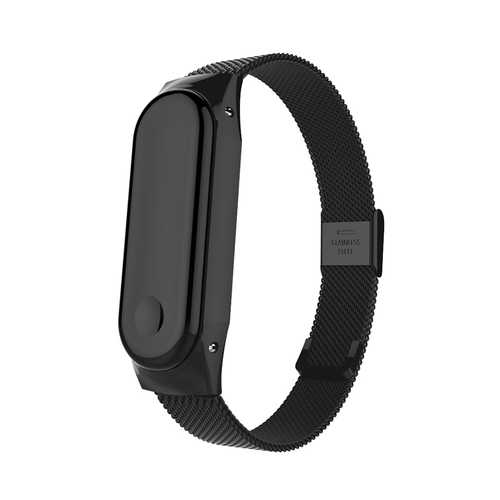 Bakeey Anti-lost Buckle Watch Band Milanese Stainless Steel Watch Band for Xiaomi Mi Band3