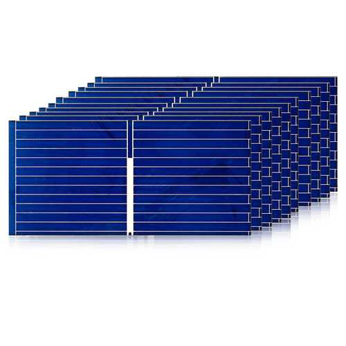10Pc Solar Panel Polycrystalline 0.12W 0.5V  For DIY Solar Cell DIY Panel Solar Sun Power Cell Parts