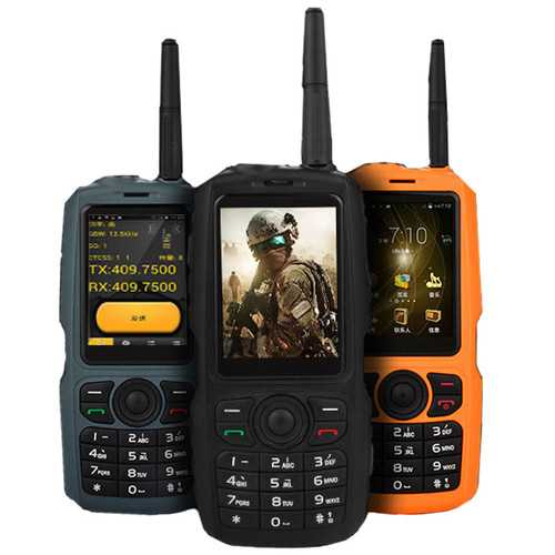 A17 3G Network WIFI 3800mAh IP68 Waterproof Intercom Zello PTT Android GPS Bluetooth Feature Phone