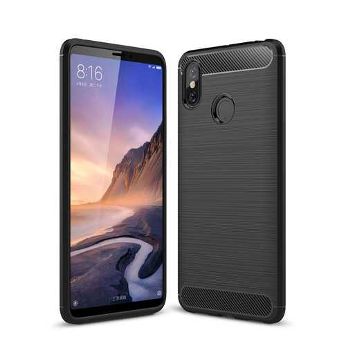 Bakeey Simple Drop-resistance Soft Silicone TPU Protective Case For Xiaomi Mi Max 3