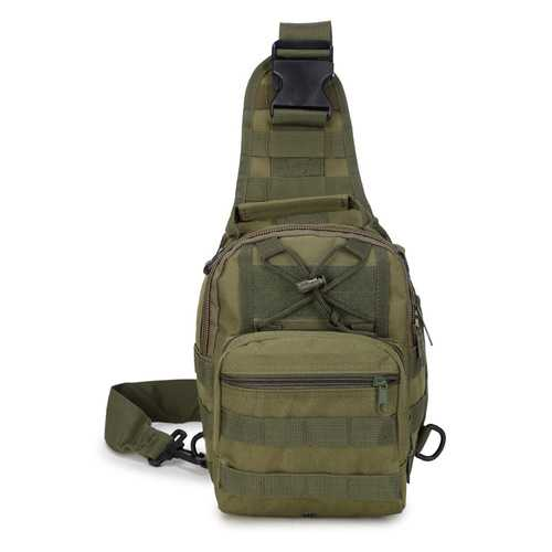 Oxford Cloth Chest Back Molle Pouch Crossbody Shoulder Bag Military Amry Tactical Bag Outdoor Sports