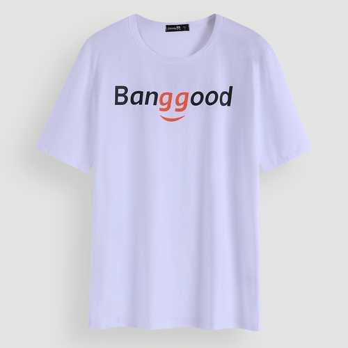 Banggood  Anniversary Cultural Short T-shirts