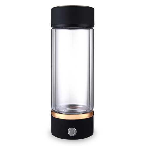 420ml Portable USB Hydrogen-Rich Water Ionizer Maker Generator Energy Bottle Cup Water Bottle