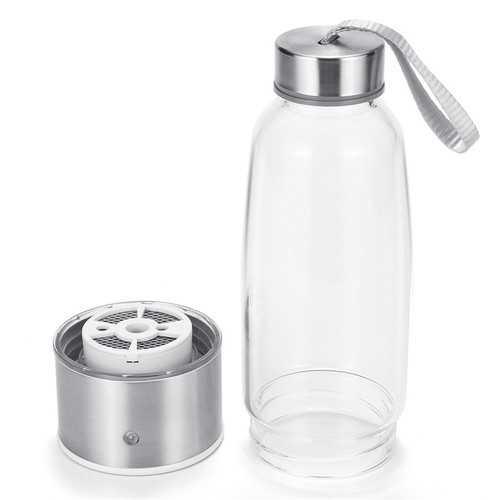 Electric 430Mpa Portable Hydrogen-Rich Water Maker Cup Generator 450ml Water Bottle