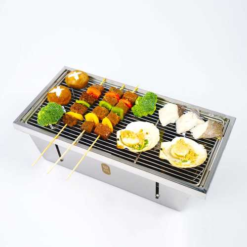 XIAOMI ZaoFeng Portable Barbecue BBQ Grill For 3-4 People Kitchen BBQ Tools