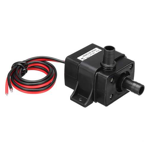 DC 12V 3M Micro Electric Brushless Water Pump Submersible Pumping for Aquarium Fish Fountain 240L/H