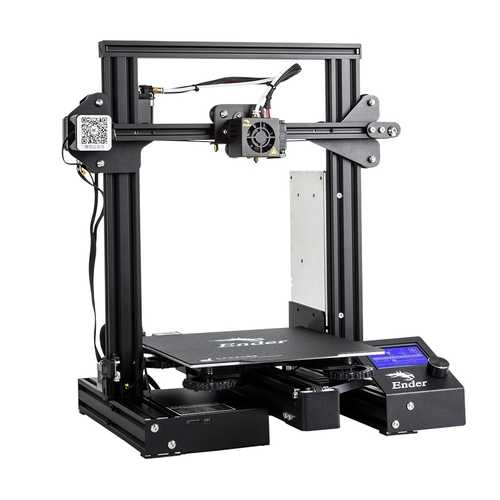 Creality 3D® Ender-3 Pro V-slot Prusa I3 DIY 3D Printer 220x220x250mm Printing Size With Magnetic Removable Platform Sticker/Power Resume Function/Off-line Print/Patent MK10 Extruder/Simple Leveling