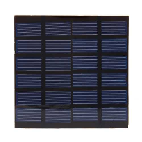 1.5W 6V Polycrystalline Solar Panel Cell Phone Battery Power Charger Module