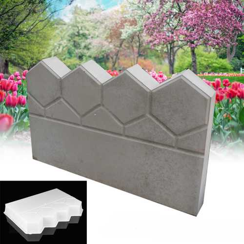 Garden Path Maker Mold Plastic Cement Brick Mold Pervious Concrete Flowerbed Pool Brick
