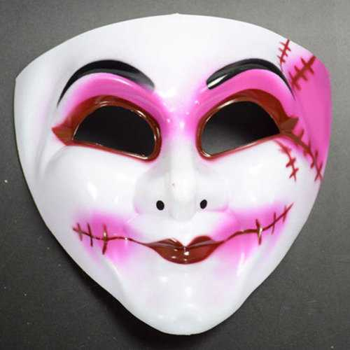 Halloween Mask Clown Mask Horror Scream Fairy Queen Mask