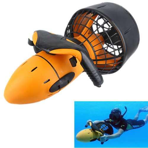 Waterproof Electric 300W Underwater Sea Scooter Dual Speed Propeller Drving Pool Submarine Toy