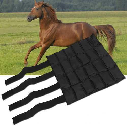 Outdoor Horse Leg Splint Protector Ice Bag Ice Compress Pad Leg Guard Equestrian Supplies