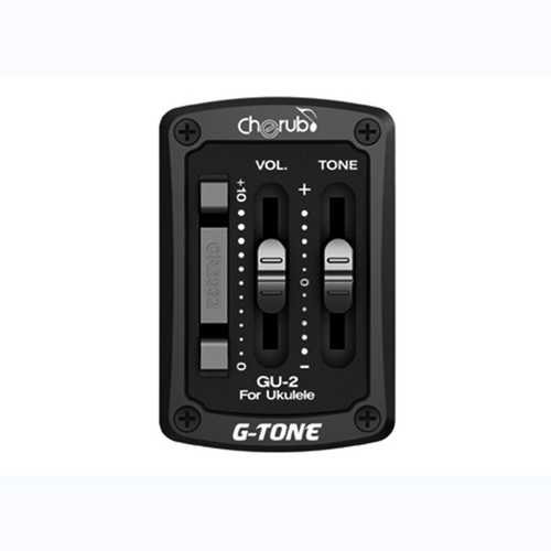 Cherub GU-2 1-Band EQ Equlizer Acoustic Ukulele Preamp Guitar Pickup