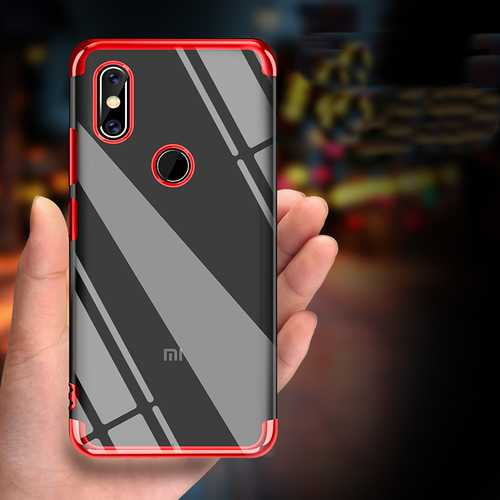 Bakeey Luxury Ultra Thin Color Plating Shock-proof Soft TPU Protective Case For Xiaomi Mi Max 3