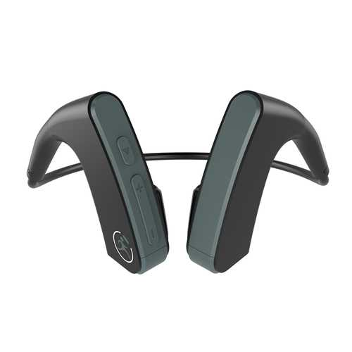 E1 Portable Bone Conduction Earhook Wireless bluetooth Earphone HIFI Bass Noise Cancelling With Mic