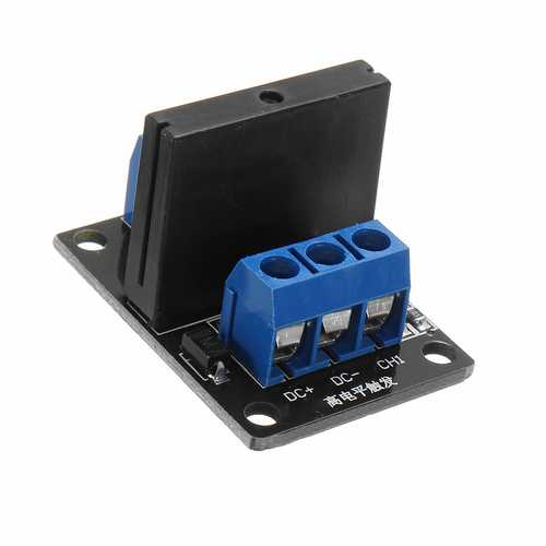 1 Channel DC 12V  Relay Module Solid State High and low Level Trigger For Arduino 240V2A