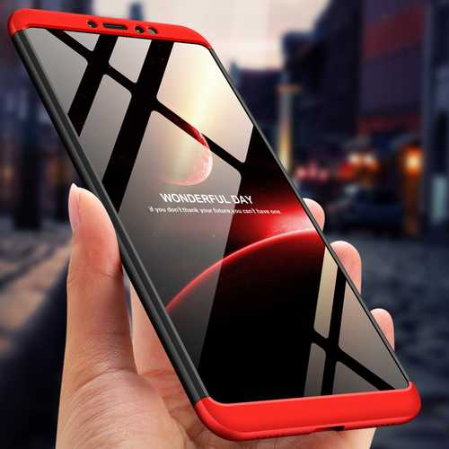 Bakeey™ 3 in 1 Double Dip 360° Hard PC Full Protective Case For Xiaomi Mi Max 3