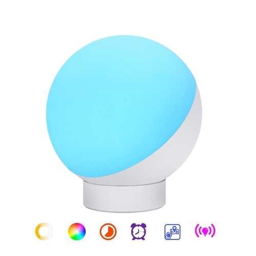 7W Smart Table Lamp RGB Warm White WifI APP Control Dimmable Amazon Alex Google Home AC100-264V