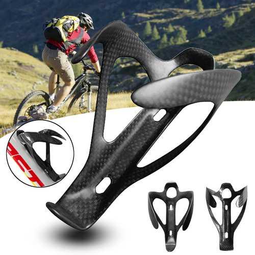 BIKIGHT 3K Carbon Fiber Matt/Glossy Road Bicycle Bike Water Bottle Holder Cage Rack