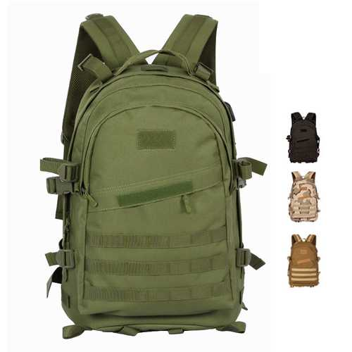 WPOLE BS3 26L 3D Outdoor Tactical Bag Unisex Camouflage Military Hiking Hunting Storage Punch