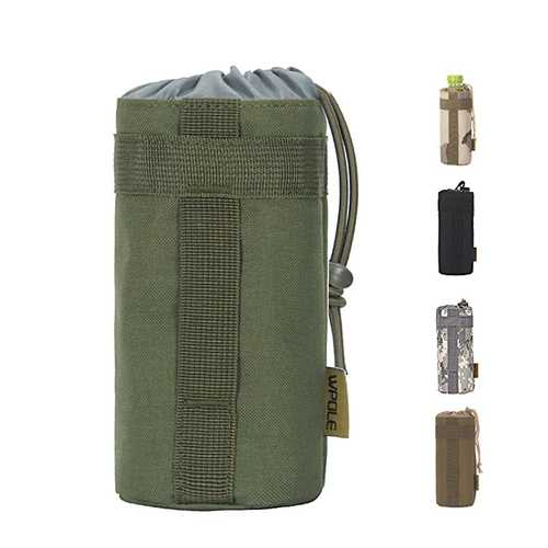 WPOLE A03 Outdoor Sports Bottle Bag Outdoor Tactical Bag Camping Hand Hold Water Cup Bag Set