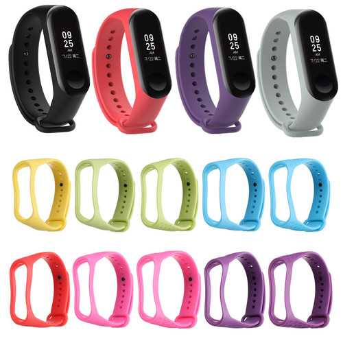 Bakeey Replacement Multicolour Wrist Watch Band for XIAOMI MI Band 3
