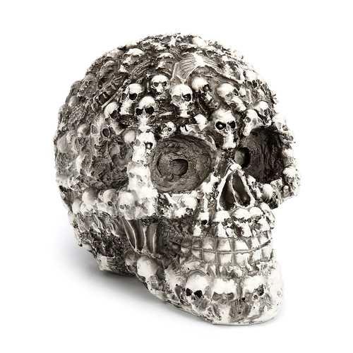 Skulls Head Model Dark Fantasy Horror Gothic Skull Party Ornament Decorations Gift